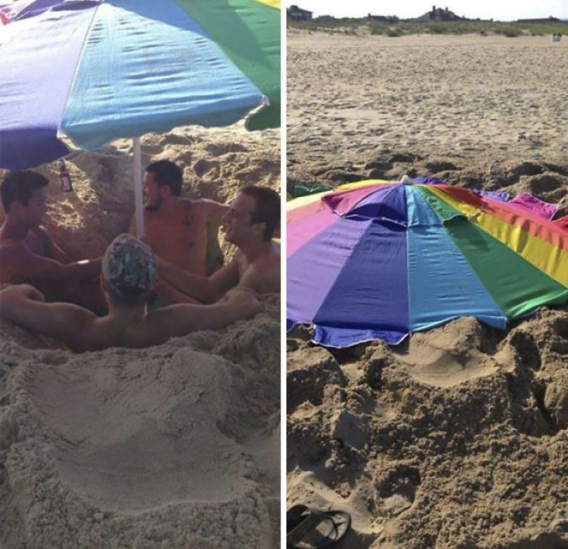 5cfa471343946 interesting funny beach 1 5b6c384395797  700 - Coisas interessantes que as pessoas encontraram na praia