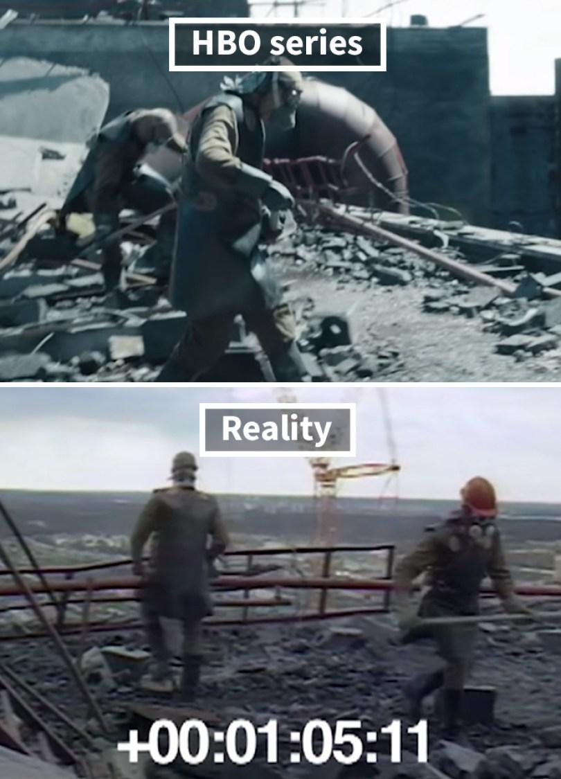 5d073e2d8597d side by side comparison hbo chernobyl with actual footage 16 5d024ae61f350  700 - Fotos de Chernobyl da HBO em comparação a fotos reais