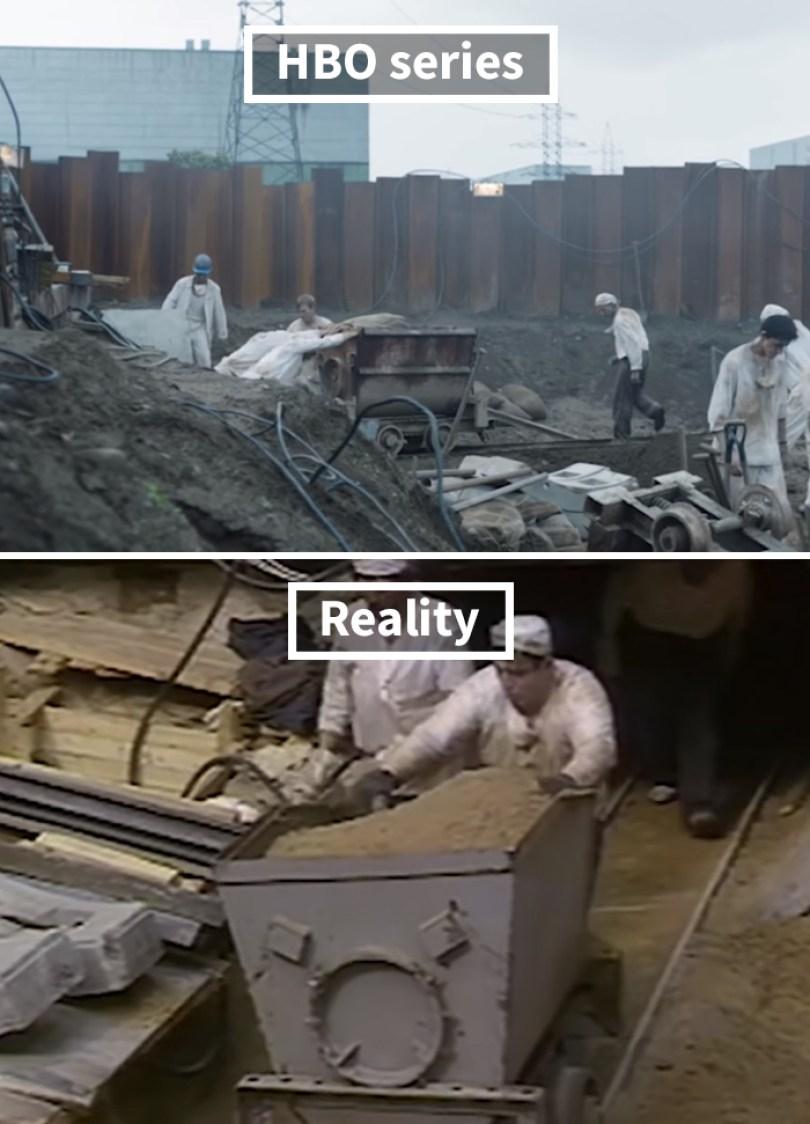 5d073e2e05e90 side by side comparison hbo chernobyl with actual footage 17 5d024b067926d  700 - Fotos de Chernobyl da HBO em comparação a fotos reais