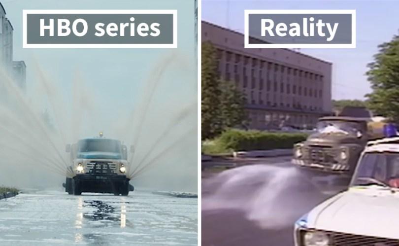 5d073e2f5feaf side by side comparison hbo chernobyl with actual footage 3 5d0242d8a5177  700 - Fotos de Chernobyl da HBO em comparação a fotos reais