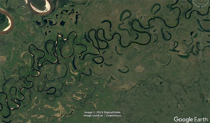 5d5507ece6ca9 google earth map finds 14 5d526b61c2dce  700 - 30 coisas mais interessantes que um geólogo encontrou no Google Earth
