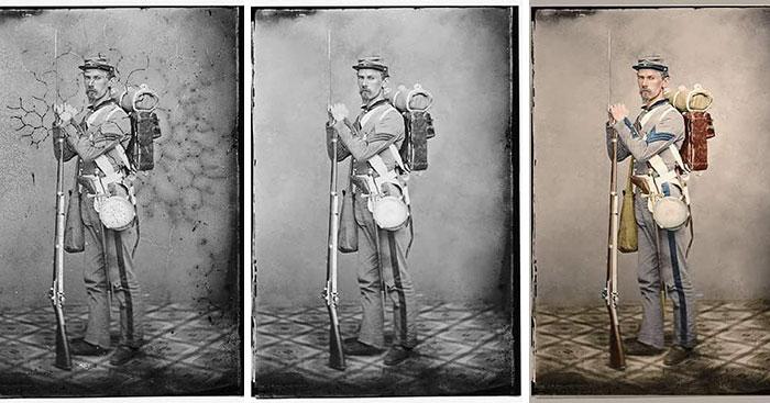 5d66239bbf490 old photo restorations mario unger 5d64da3450ea7  700 - Projetos gráficos: A arte em colorir vídeos e fotos em preto e branco