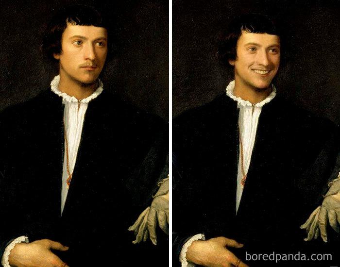 5d7602eeef565 famous paintings portraits faceapp 34 5d72251a60146  700 - Com um sorriso é sempre melhor
