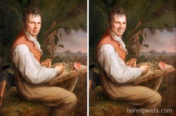 5d7602f01d340 famous paintings portraits faceapp 2 5d7246a913a67  700 - Com um sorriso é sempre melhor