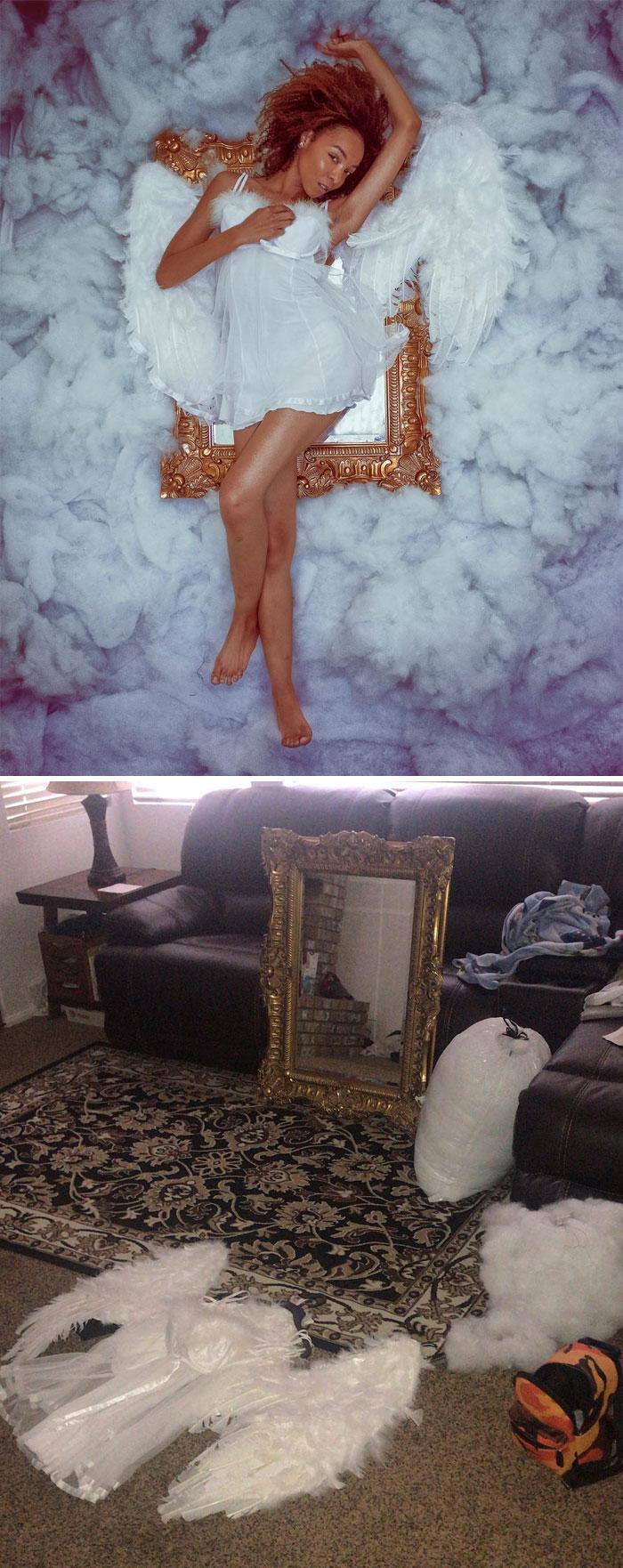 5d7f3c27c9239 photo shoot behind the scenes kimberly douglas 55 5d7a295e43849  700 - Modelo tira auto-retratos muito interessante