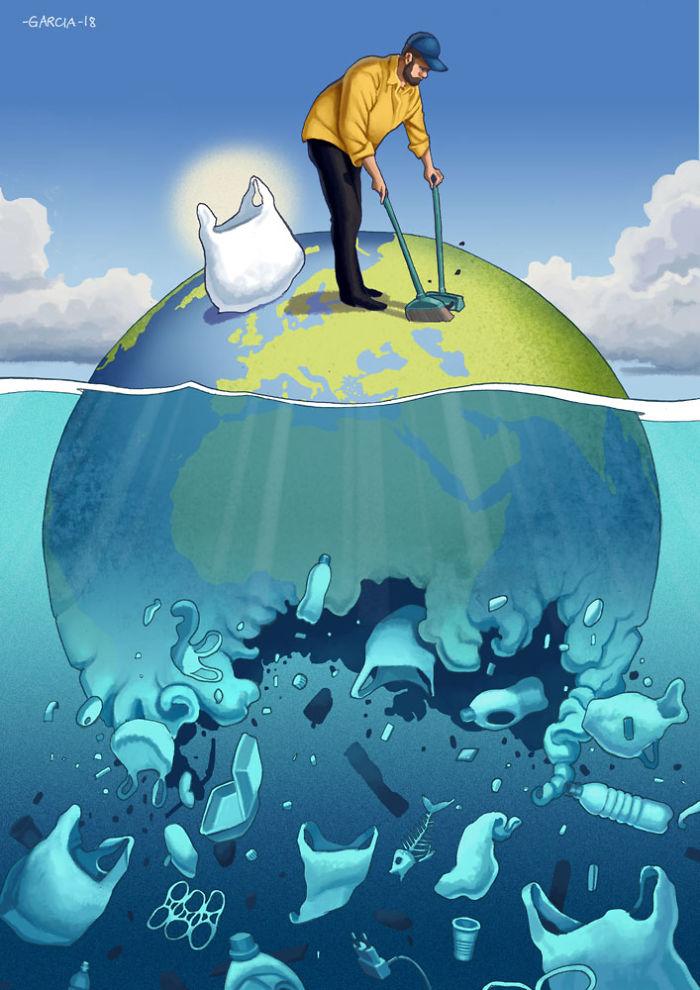5d8dbd1b111e6 50 Brutally Shocking Illustrations that tell whats Wrong with our Society 5d8a0cc5ece32  700 - 35 ilustrações instigantes que mostram o que há de errado com nossa sociedade