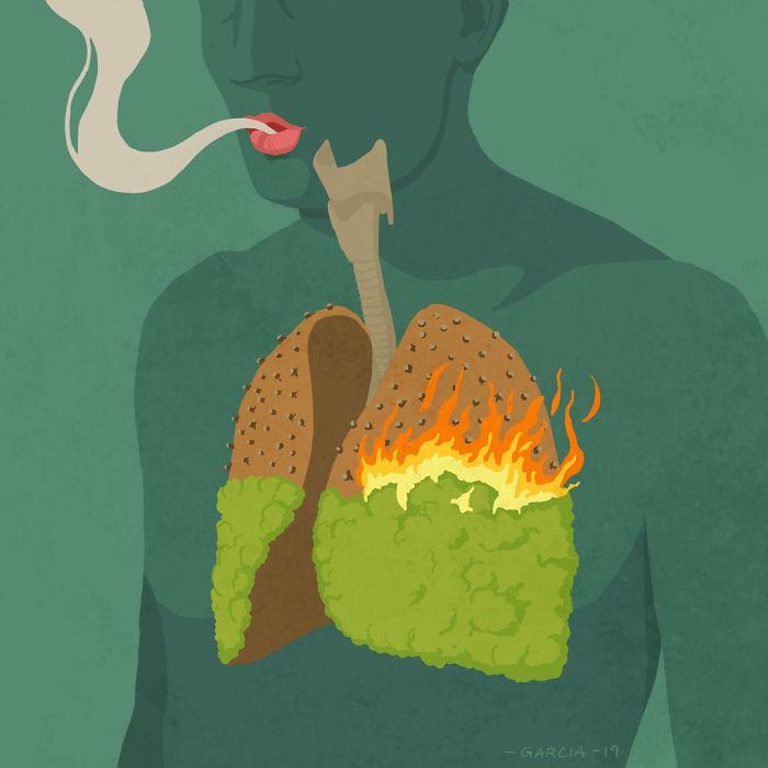 5d8dbd1bc8a15 50 Brutally Shocking Illustrations that tell whats Wrong with our Society 5d8a10bcb6f69  700 - 35 ilustrações instigantes que mostram o que há de errado com nossa sociedade