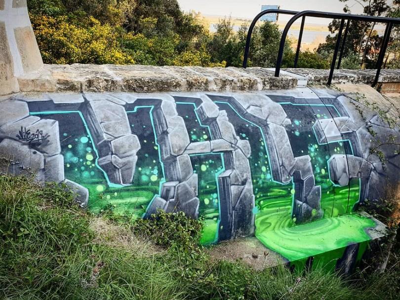 amazing transparent graffiti vile 13 - Português faz as paredes parecerem transparentes usando nada além de tinta Spray