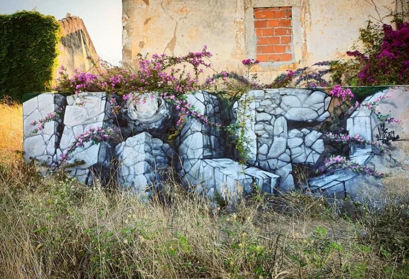 amazing transparent graffiti vile 24 - Português faz as paredes parecerem transparentes usando nada além de tinta Spray