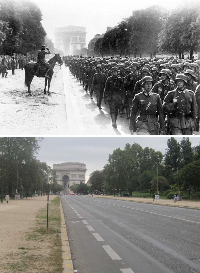 5dc5225a5c0fd Europe during World War 2 and Today our top 22 Now And Then images 5dbffce993db1  700 - 30 fotos fabulosas durante as Guerras e como são esses lugares hoje