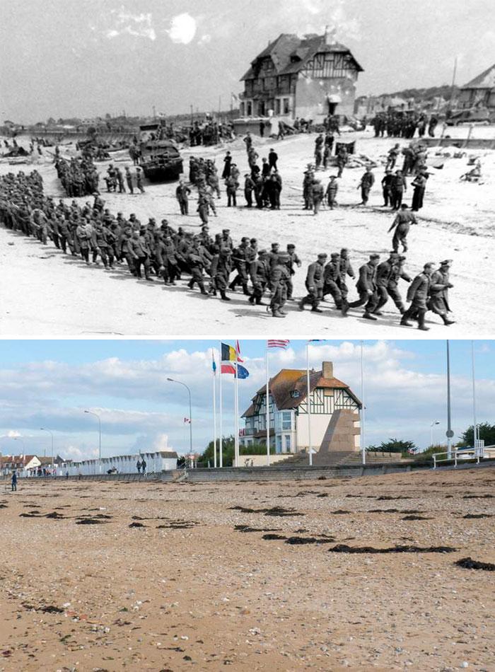 5dc5225ae2417 Europe during World War 2 and Today our top 22 Now And Then images 5dbffced96c2e  700 - 30 fotos fabulosas durante as Guerras e como são esses lugares hoje
