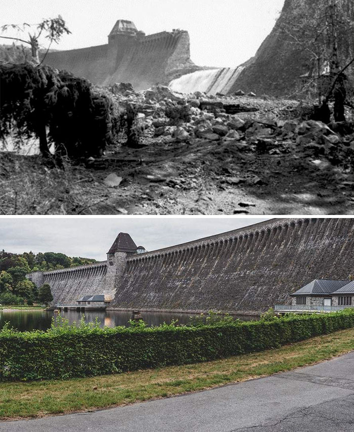 5dc5225ce2e17 Europe during World War 2 and Today our top 22 Now And Then images 5dbffd28a9de6  700 - 30 fotos fabulosas durante as Guerras e como são esses lugares hoje
