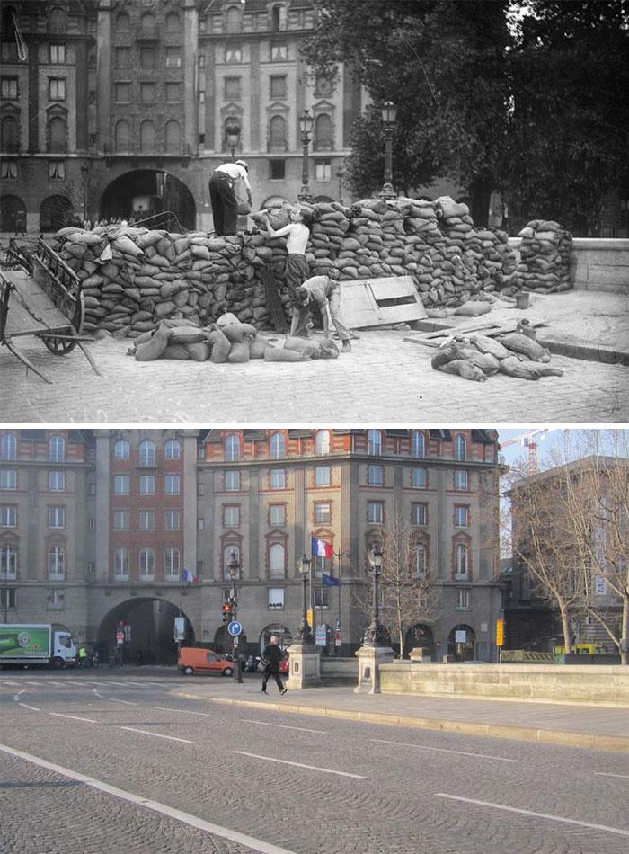5dc5225f629de Europe during World War 2 and Today our top 22 Now And Then images 5dbffd11d7196  700 - 30 fotos fabulosas durante as Guerras e como são esses lugares hoje