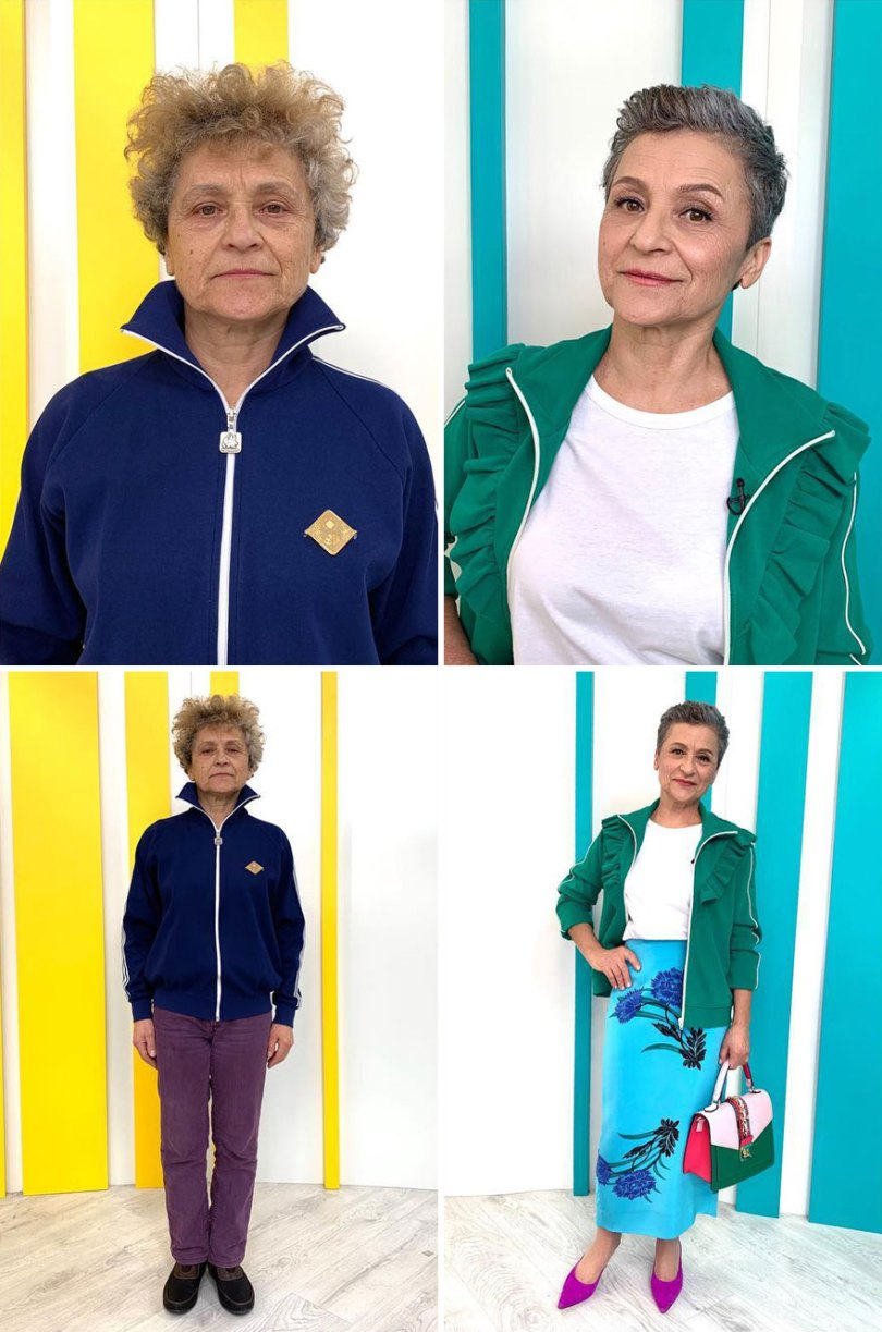 """5dc522657230e before after transformations stylist alexander rogov 4 5dc3e395cdb09  880 - Resultado impressionante de pessoas """"repaginadas"""" por estilista russo"""