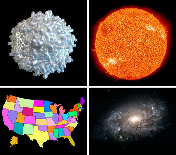 5dee05bbafe05 earth compared to other objects in universe 20 5de7c51acbb9b  700 - 27 fotos que ajudarão você a entender um pouco melhor o tamanho da Terra