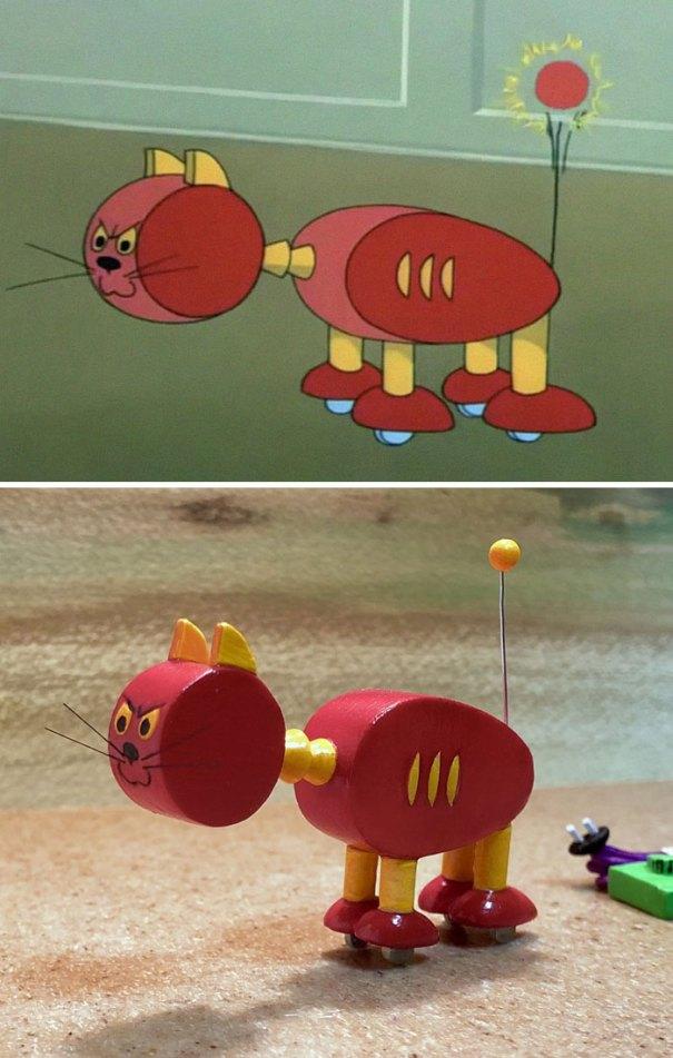5e05b9c273499 funny tom and jerry sculpture taku inoue 1 5e047df55264a  700 - 27 esculturas hilárias inspiradas nos momentos de Tom e Jerry