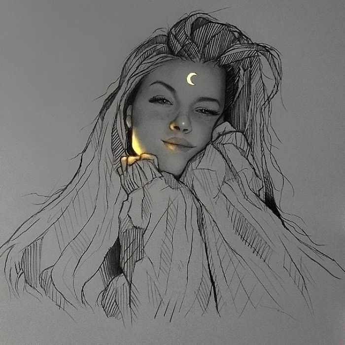 5e4b9f6859f90 B5X9GytpyQL png  700 - Técnica única deste artista faz parecer que seus desenhos estão brilhando