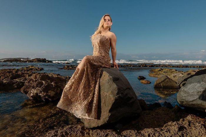 5e4fa86726081 B8oc1xLB9Lx png  700 - Linda modelo com Síndrome de Down cumpriu seu sonho de modelar na New York Fashion Week
