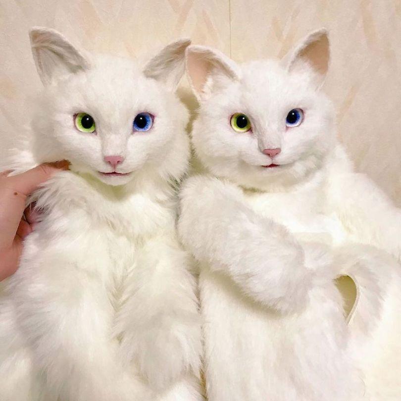 5e577ebd12e7c Japanese artist continues to create bags in the shape of cats and realism impresses 5e54cf052a40f  880 - Artista japonês cria Bolsas de gatos que assustam de tanta veracidade