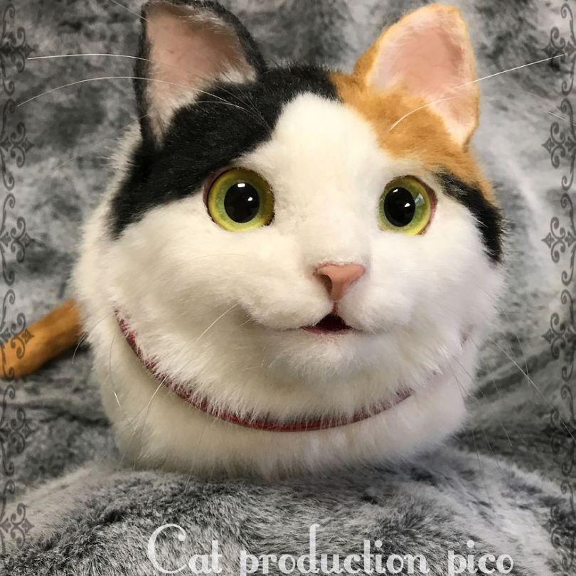 5e577ec39089a Japanese artist continues to create bags in the shape of cats and realism impresses 5e54d09f71923  880 - Artista japonês cria Bolsas de gatos que assustam de tanta veracidade