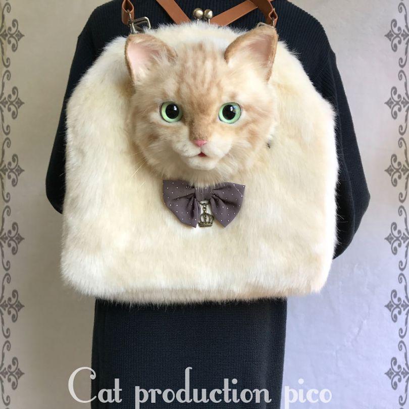 5e577ec4358f3 Japanese artist continues to create bags in the shape of cats and realism impresses 5e54d1131b046  880 - Artista japonês cria Bolsas de gatos que assustam de tanta veracidade