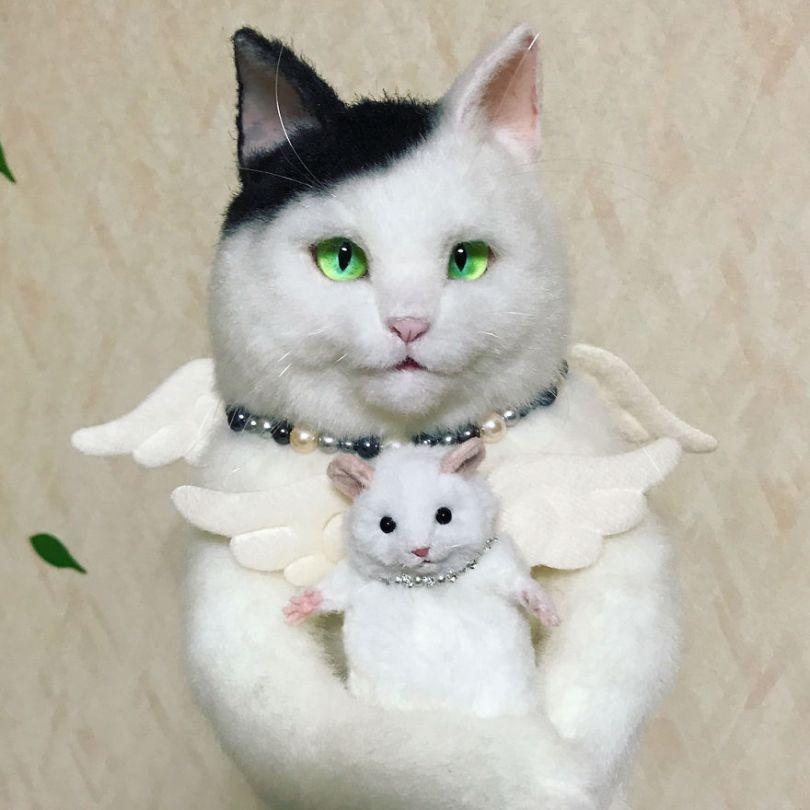5e577ec53bea1 Japanese artist continues to create bags in the shape of cats and realism impresses 5e54d11a8dfea  880 - Artista japonês cria Bolsas de gatos que assustam de tanta veracidade