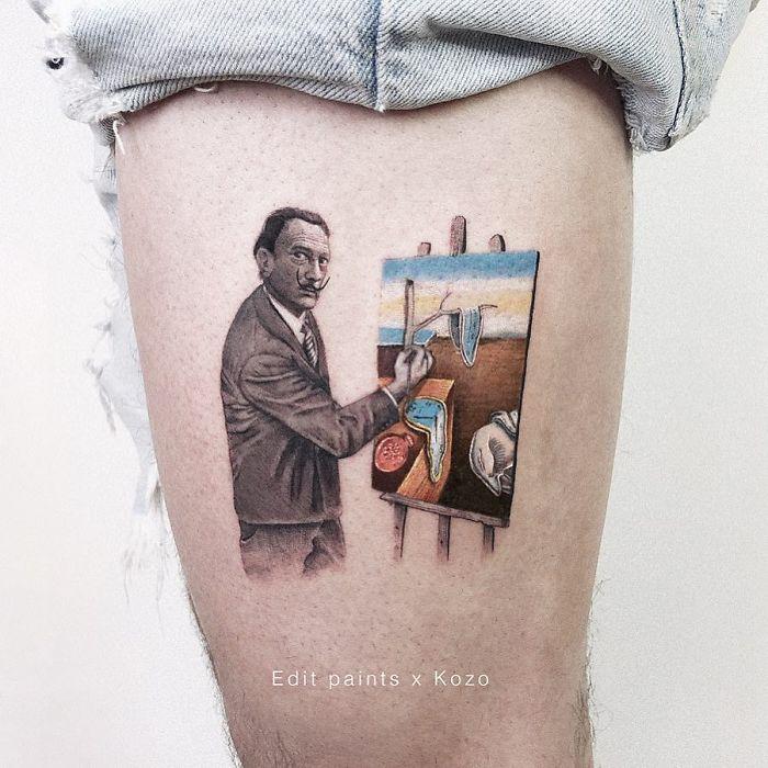 5e689afd067b9 BxHfjZ8ngJv png  700 - Tatuagens minúsculas inspiradas na cultura Pop de tatuador Israelense
