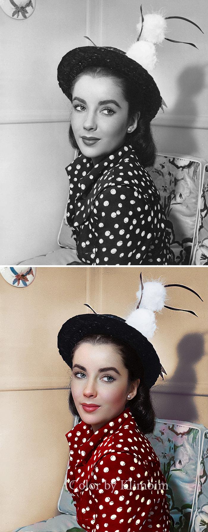 5e69f0bf3f636 This Russian artist impresses by giving vivid colors to photos of celebrities from the past 5e679b1a426ed png  700 - Projetos gráficos: A arte em colorir vídeos e fotos em preto e branco