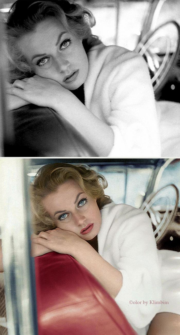 5e69f0c184179 This Russian artist impresses by giving vivid colors to photos of celebrities from the past 5e679afd274e2 png  700 - Fotos antigas coloridas de estrelas clássicas de Hollywood