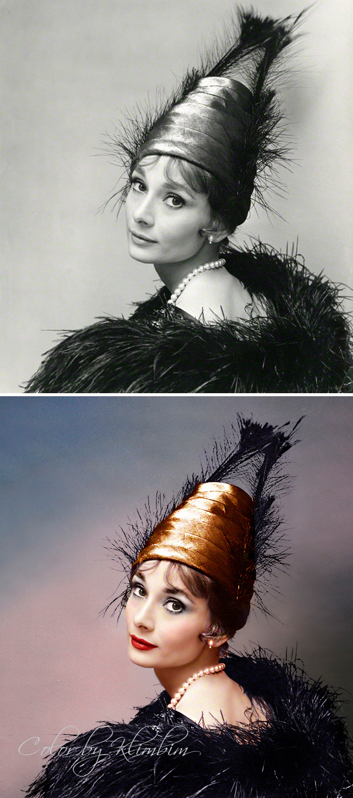 5e69f0c28d7a8 This Russian artist impresses by giving vivid colors to photos of celebrities from the past 5e679b1ee16ac png  700 - Fotos antigas coloridas de estrelas clássicas de Hollywood