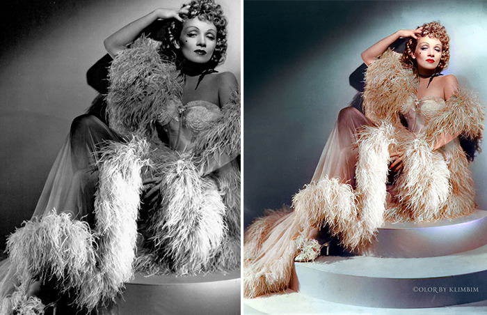 5e69f0c2cf1e2 This Russian artist impresses by giving vivid colors to photos of celebrities from the past 5e679b22093c4 png  700 - Fotos antigas coloridas de estrelas clássicas de Hollywood