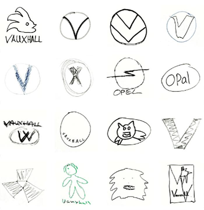 5ea2970ce480a cars logos from memory 45 5ea14c29847b2  700 - Desafio - Desenhe logos conhecidas de memória