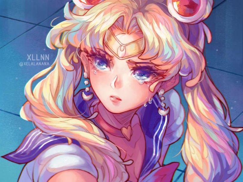 5ec62ac14c912 ggg 5ec45eefd23fc  700 - Publicações de artistas no Twitter surpreende fãs de Sailor Moon