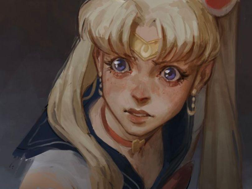 5ec62ac36e38e ggg 5ec4699178dfa  700 - Publicações de artistas no Twitter surpreende fãs de Sailor Moon