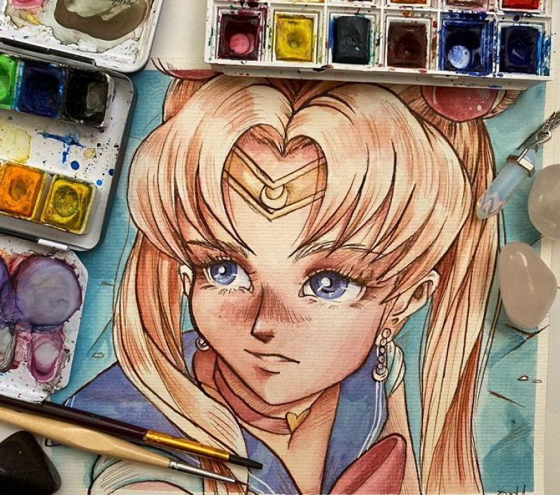 5ec62ac48772b ggg 5ec46e5725762  700 - Publicações de artistas no Twitter surpreende fãs de Sailor Moon