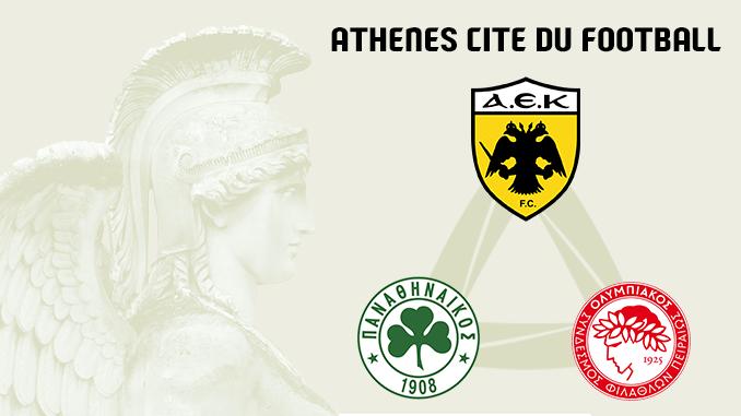 Athènes, cité du football