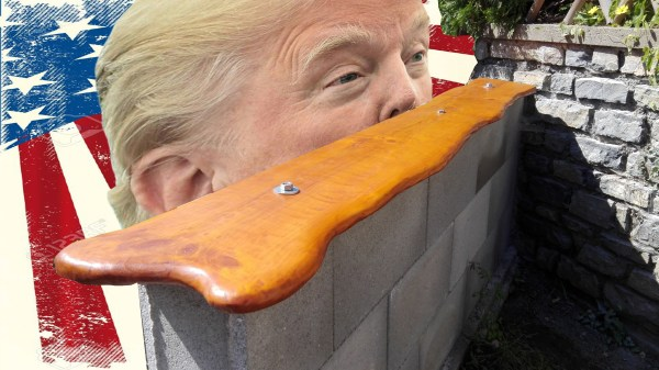 trump your garden: der blonde & die mauer
