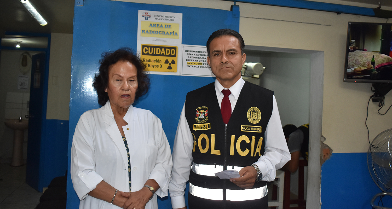 CMP PARTICIPA DE OPERATIVO CONJUNTO CONTRA EL EJERCICIO ILEGAL DE LA MEDICINA