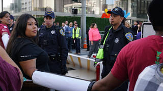 Climate capitalism lockdown gcas protest indigenous