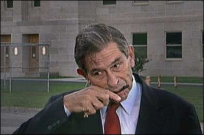 Wolfowitz licking comb