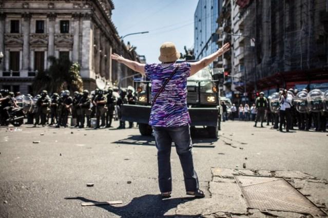 Democratización RT le dice NO a la Reforma Previsional y repudia la represión del Gobierno.