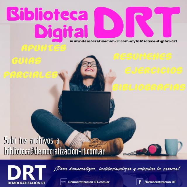 Clic para ingresar a la Biblioteca digital de DRT