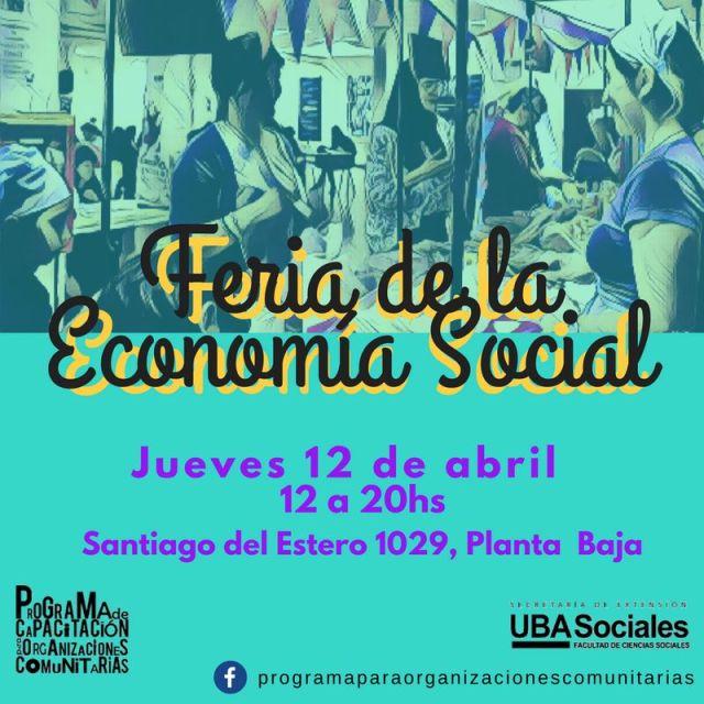 Feria de Economía Social en Sociales