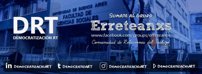 Sumate a Erreteanxs - El grupo de Facebook para Relaciones del Trabajo de la UBA