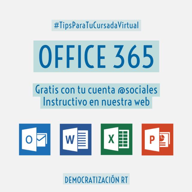 Office 365 con tu mail de dominio @sociales.uba.ar – Paso a Paso / #TipsParaTuCursadaVirtual