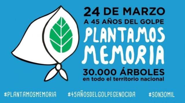 24 de marzo, día de la Memoria por la Verdad y la Justicia