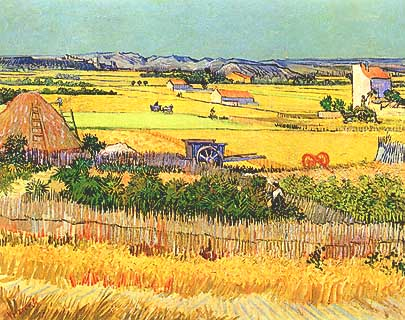 Vincent Van Gogh. La mietituta 1888.