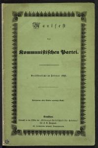 Manifesto del Partito Comunista, Londra, 1848