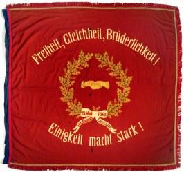 Bandiera di uno dei primi partiti socialisti tedeschi