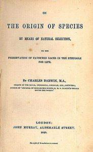 03 Il frontespizio dell'edizione del 1859 de L'origine delle specie
